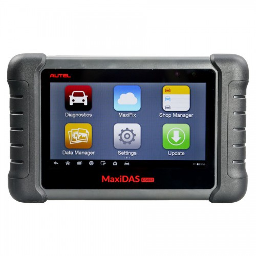 Latest AUTEL MaxiDAS DS808 KIT Tablet car Diagnostic Tool <strong>Full</strong> Set Support <strong>Injector</strong> &amp; Key Coding Update Online