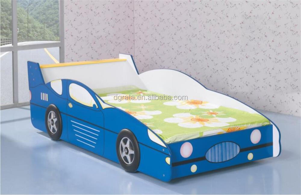 2017 E1 MDF Children Modern Sport Car shape Twin bed