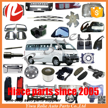 One-stop auto spare replacement parts 1993-2018 Toyota hiace body parts kit chrome accessories