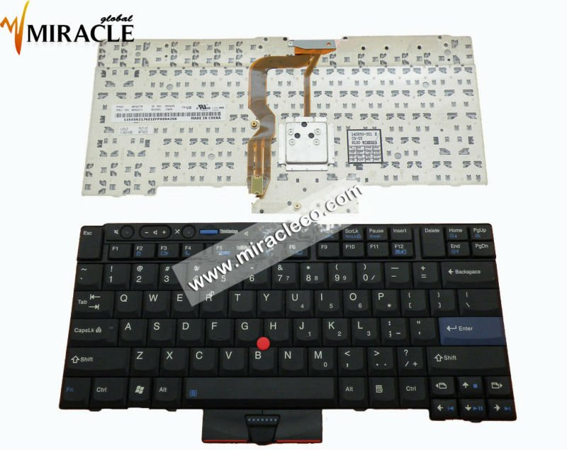 laptop keyboard for Lenovo ThinkPad T400S T410 T410I T410S T420 X220 US keyboard