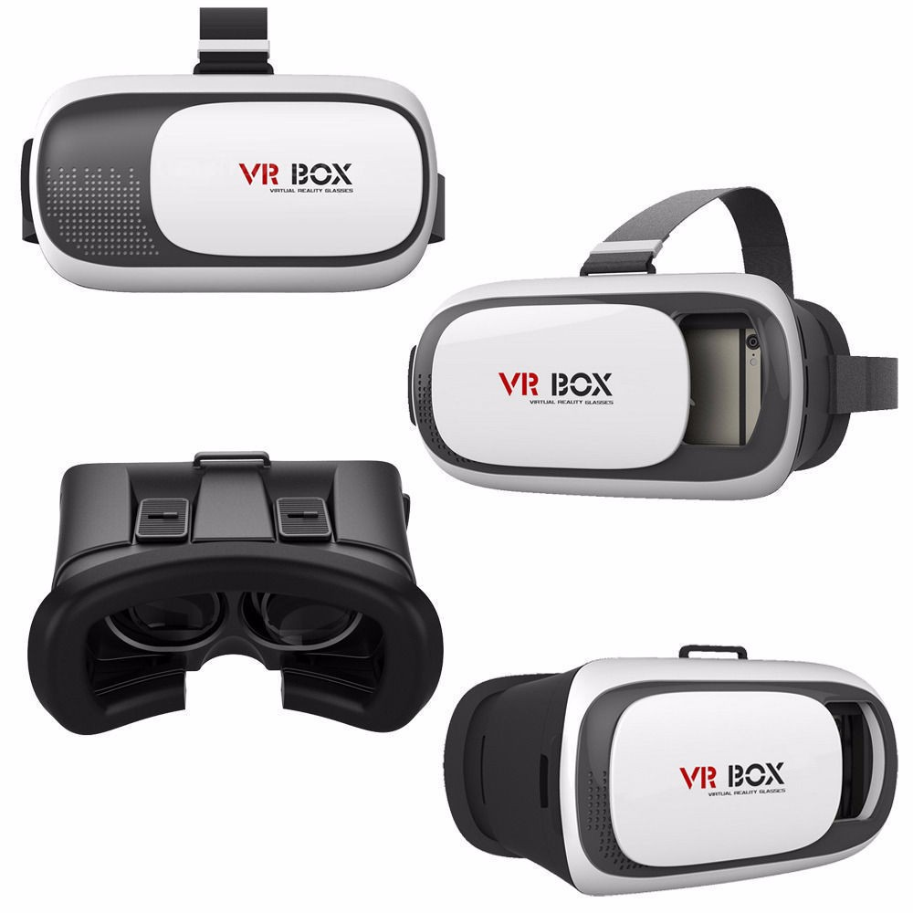 New Virtual Reality VR BOX 2.0 Version 3D Glasses Google cardboard VR Glasses Helmet+Bluetooth Controller For 3.5-6inch phone