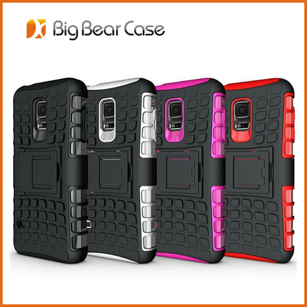 new fashion armor with stand case for samsung s5 mini