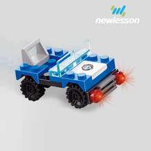decoration fun bricks active brain assembly model car trend toy for children