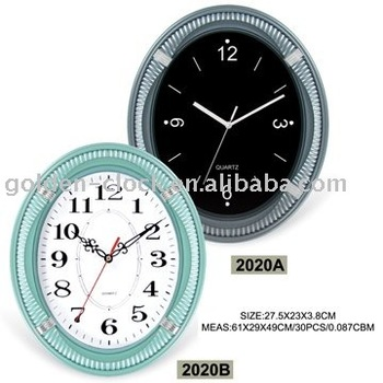 Oval-shaped Gift Clock, Giveaway Gift