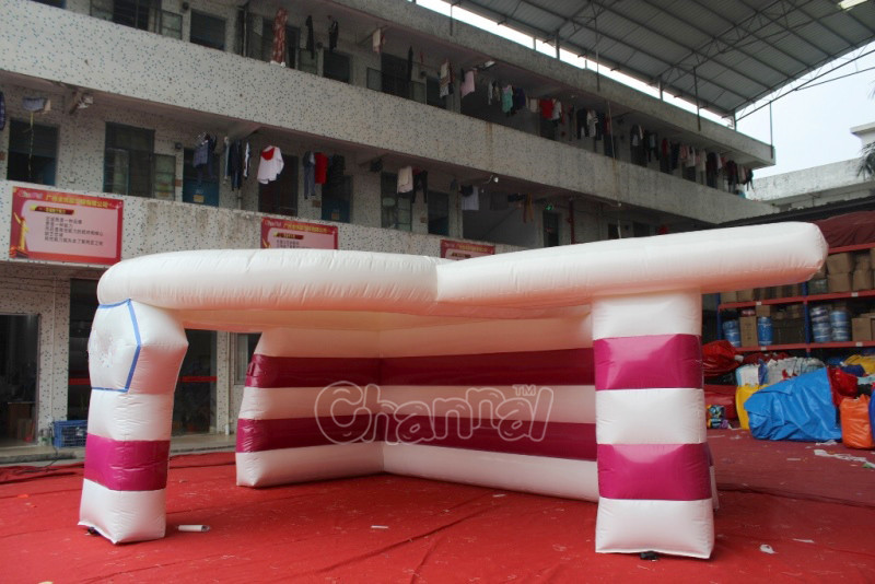 Commercial inflatable tent for exhibition