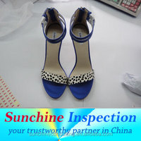 ladies fancy footwear / shoes inspection / industrial product inspection in China