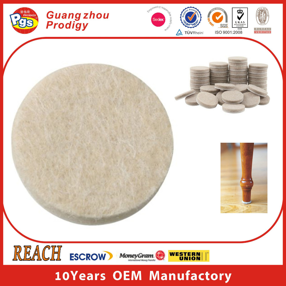 Heavy duty 1000g floor protectors for furniture legs