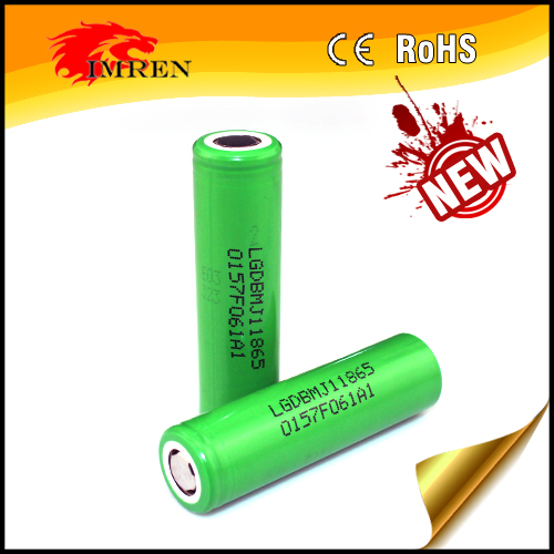 Authenic MJ1 LG High capacity MJ1 INR18650MJ1 3500mah 10A discharge tube mod 18650 battery mod e-cigarette