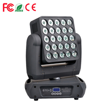 3-year warranty 25x12w rgbw 4in1 leds low price new style high quality matrix pixel led moving head beam