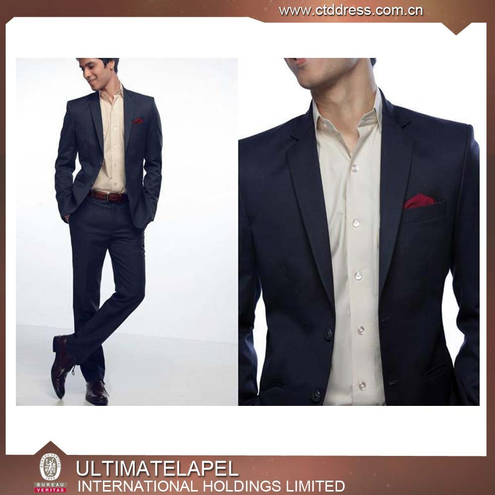 Latest fashion design slim fit office wear