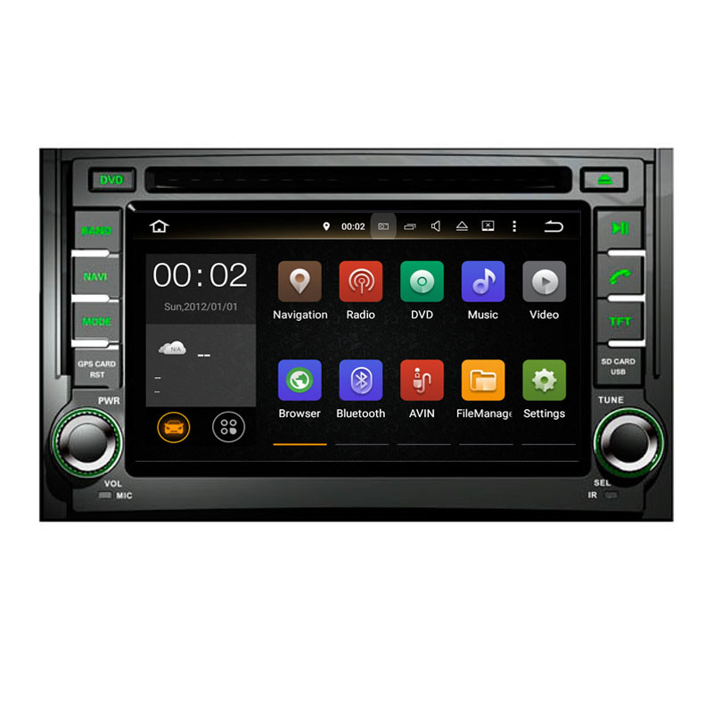 China Factory Directly Sale Car Radio DVD GPS built in Bluetooth Support Hand Free Call System for Hyundai H-1 Grand Starex