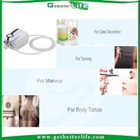 2015 getbetterlife Portable Makeup Airbrush Kit & Mini Airbrush Compressor Set For Body Paint, Tanning