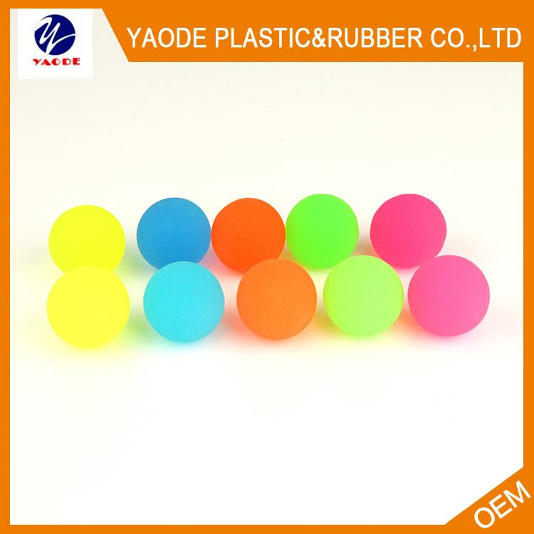 New arrival different types funny jumping rubber soccer super ball