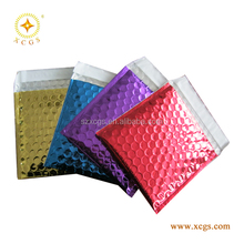 Fashion Metallic Protective Mailer Jewelry Bubble Envelopes Padded