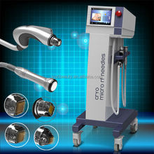 10MHZ Cooling RF Skin Rejuvenation Fractional RF Cavitation EMS Vibration Thermal RF Equipment