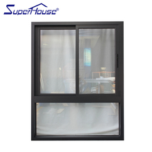Combined type Aluminum Vertical Slide Window Manufacture