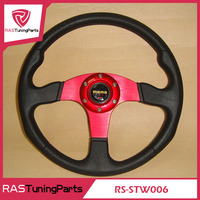 New MOMO Racing PU Steering Wheel With Horn Line
