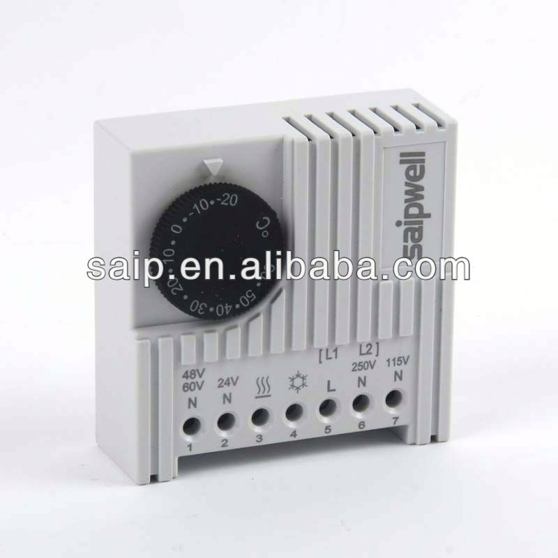 Electronic Thermostat switch thermostat reliable supplier with cheapest price 3 heat settings and adjustable thermostat