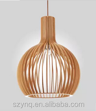 special wooden pendant lamp