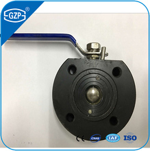 China ANSI standard A105 size from DN15 to DN 150 V-port 800LB ball valve