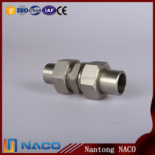 Shock Resistant Superior Non-slip Weld Bulkhead Hydraulic Fittings