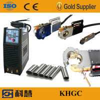 Closed- frame head welding equipment, auto welding machine for pipe