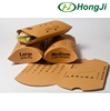 Hamburger Kraft Paper Pillow Box Food Packing Box Take Away Box