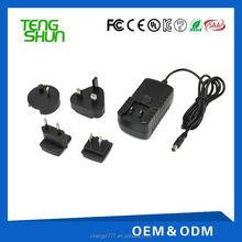 Universal 5V 1.5A usb charger adapter with 4 interchangeable plugs