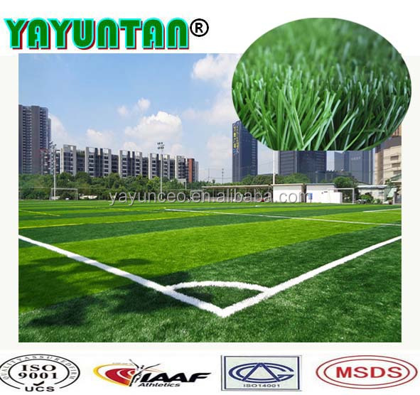 High quality artificial grass for football field/soccer turf