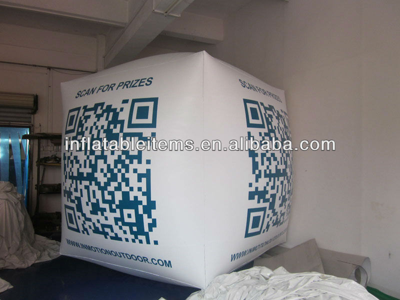 helium inflatable balloon square