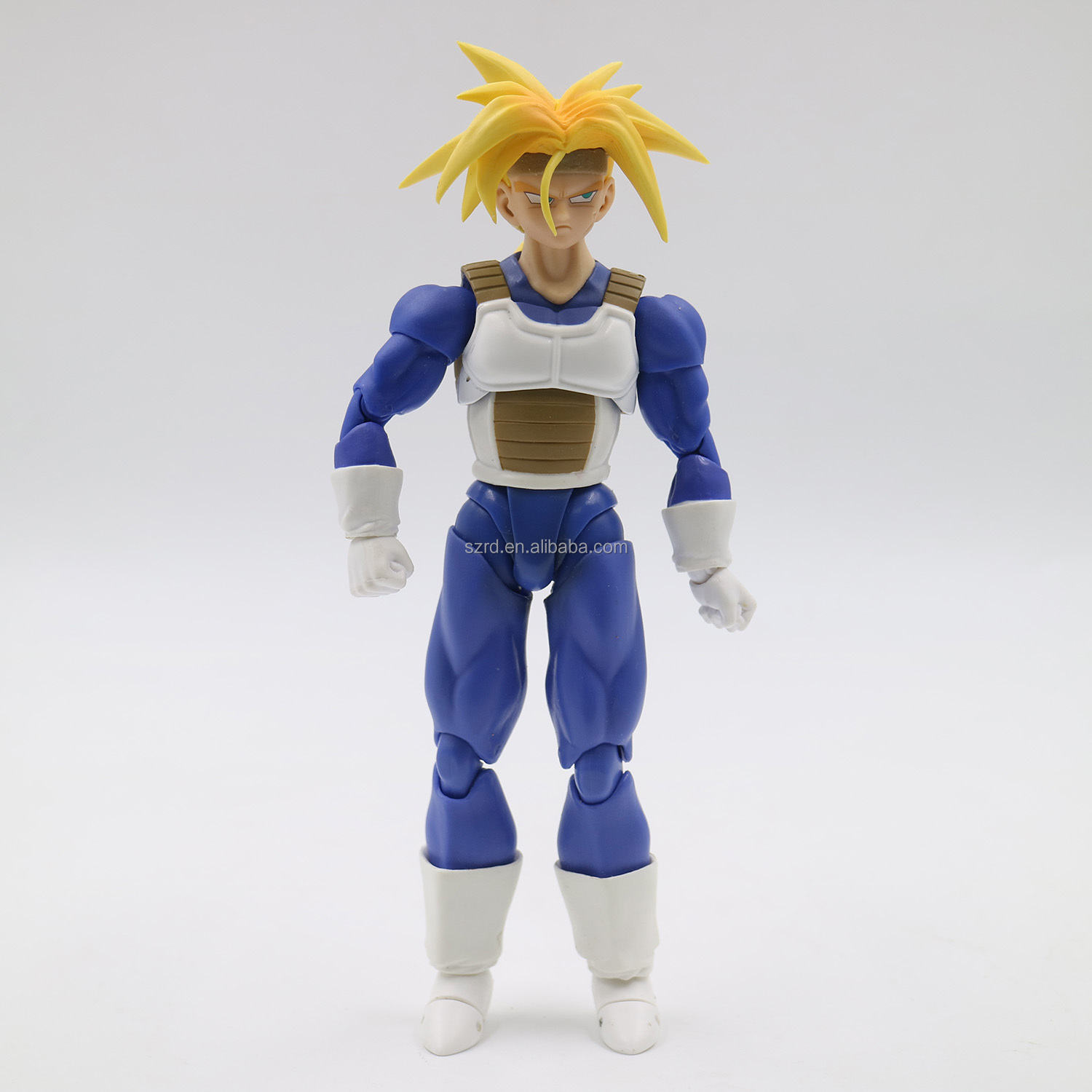 super saiyan gold garage kit/custom anime model toy/china factory direct sale