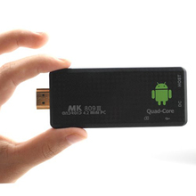 MK809 series third generation RK3229 quad core 2g/8g support BT 4K Mini PC TV stick MK809III