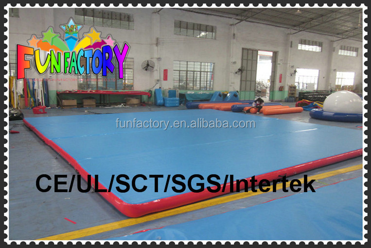 inflatable tumble track for sale/inflatable air tumble track