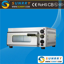 Professional stainless steel restaurant used electric pizza oven for sale