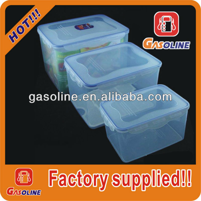 Factory supplied clear BPA free large plastic water containers