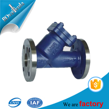 Q235 PN16 water application pipe strainer