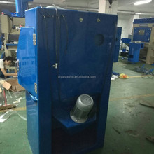 wet water sand blast cabinet for polishing and blasting