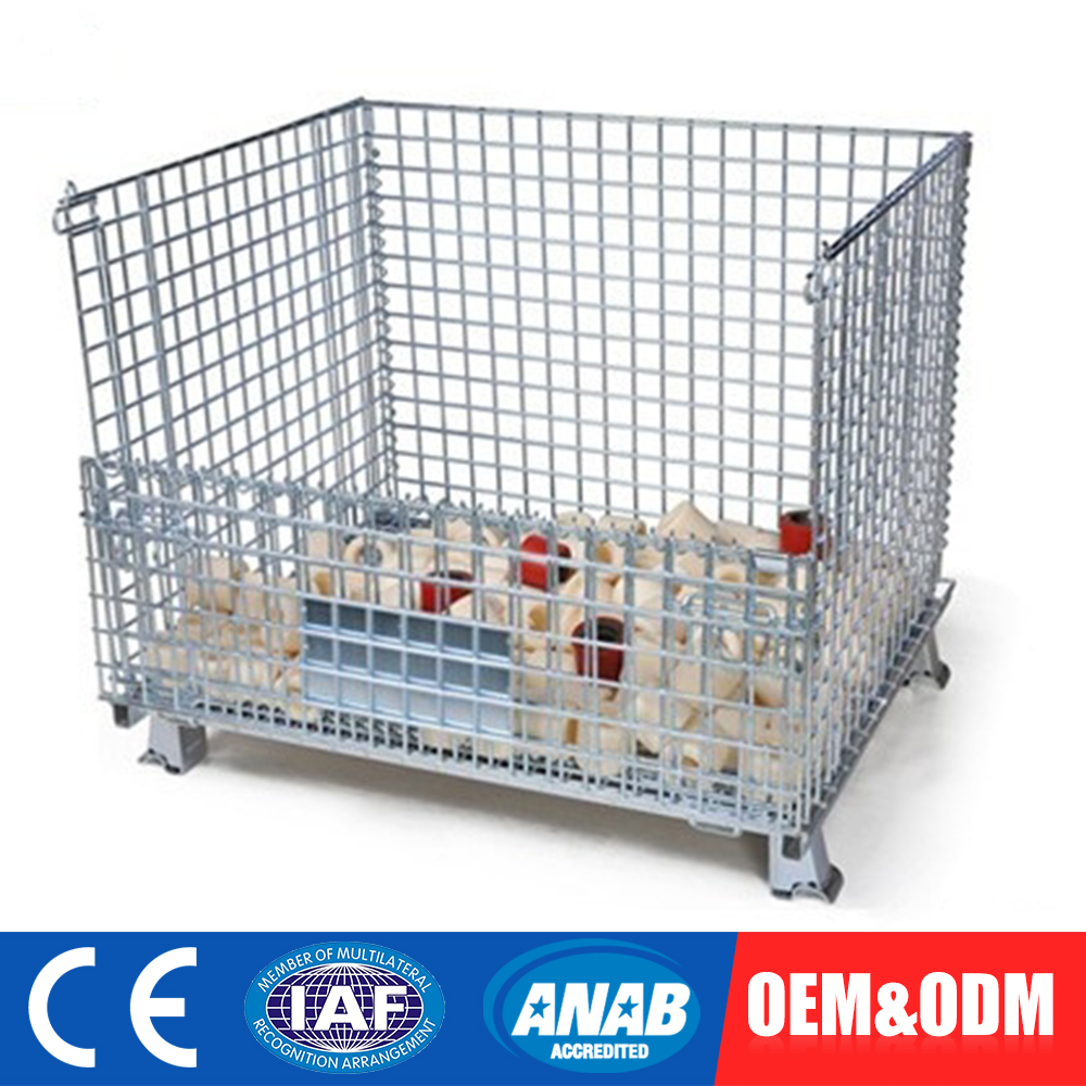 Steel wire box cage