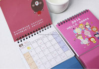 2014 hot sale business desk calendar table calendar