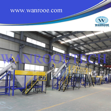 PET bottle recycling crushing and washing machine/ beverage bottle recycling line