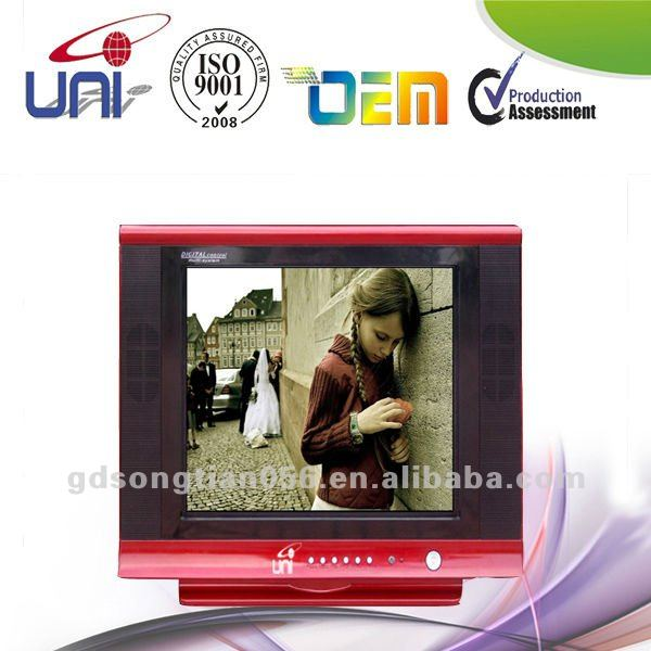 LOW PRICE 17 inch Color CRT TV Slim TV ST-CRT-WJ11