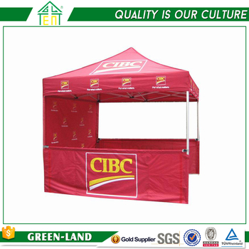 Folding Aluminum Screen Printing Pop up Shade Gazebo Canopy Tent for Sale