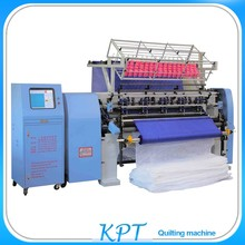Top quality firm needle bar frame structure single head quilting machine