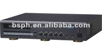 Store PA system amplifier, 70V/100V output, build in mp3 player/digital tuner