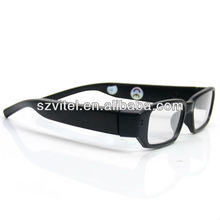 1280*720 glasses camera with side lens, can take photo also