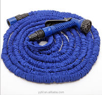 25FT Expandable Magic Powerful Hose Pipe Garden Stretched Water Hose with Spray Gun