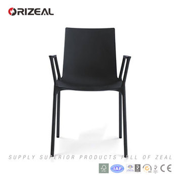 Orizeal Mid-Century macao dining chair with armrest (OZ-1284)