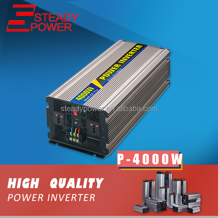 4000w DC/AC power inverter 24v 220v china pure sine wave inverter