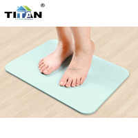 Waterproof Diatomite Bath Mat Anti-Slip Floor Mat