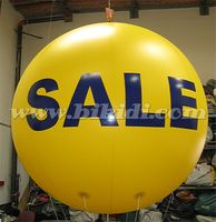 Hot sale advertising flying balloon, giant helium sphere for promotion K7043